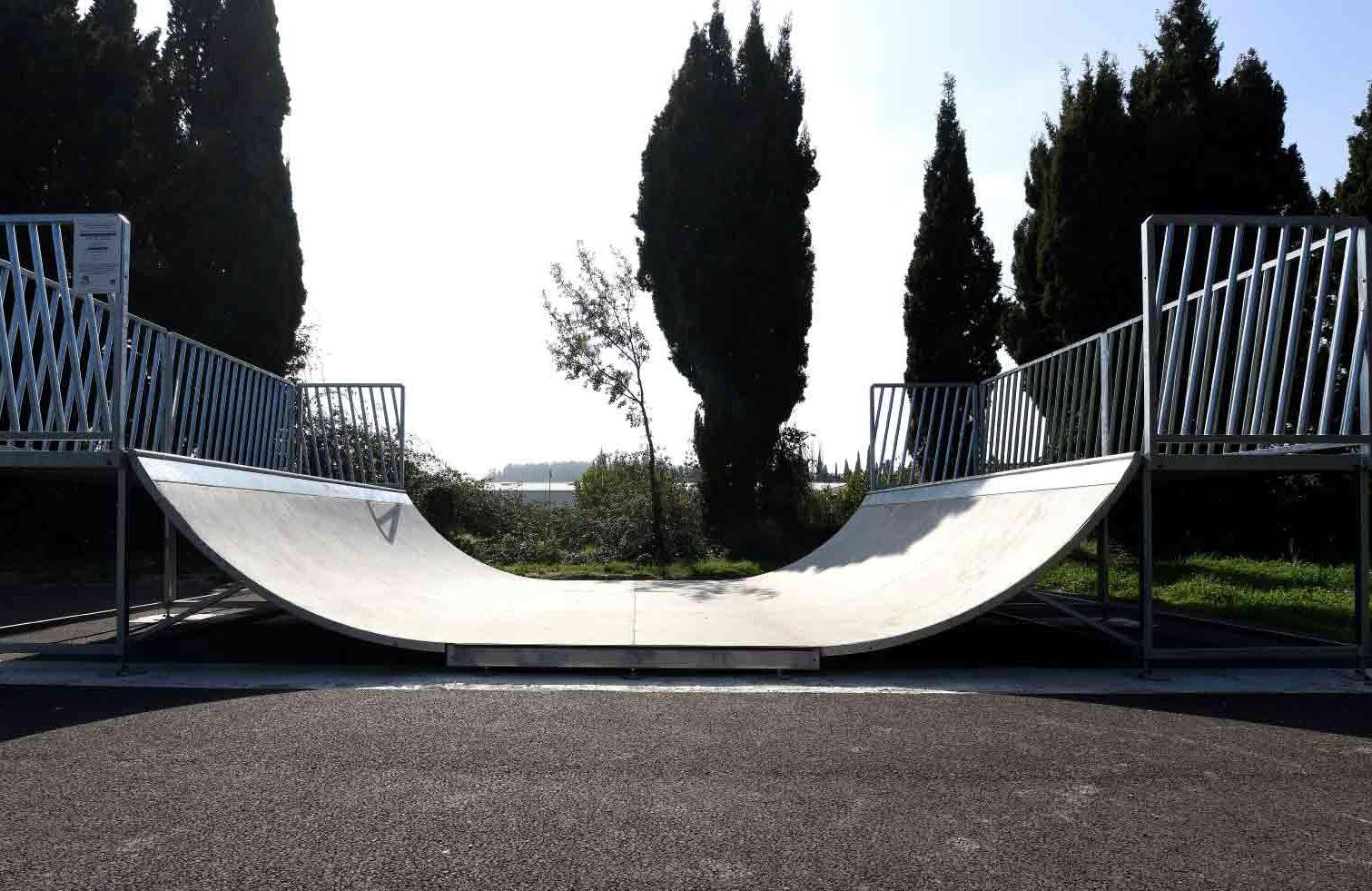 Skate park pour collectivités