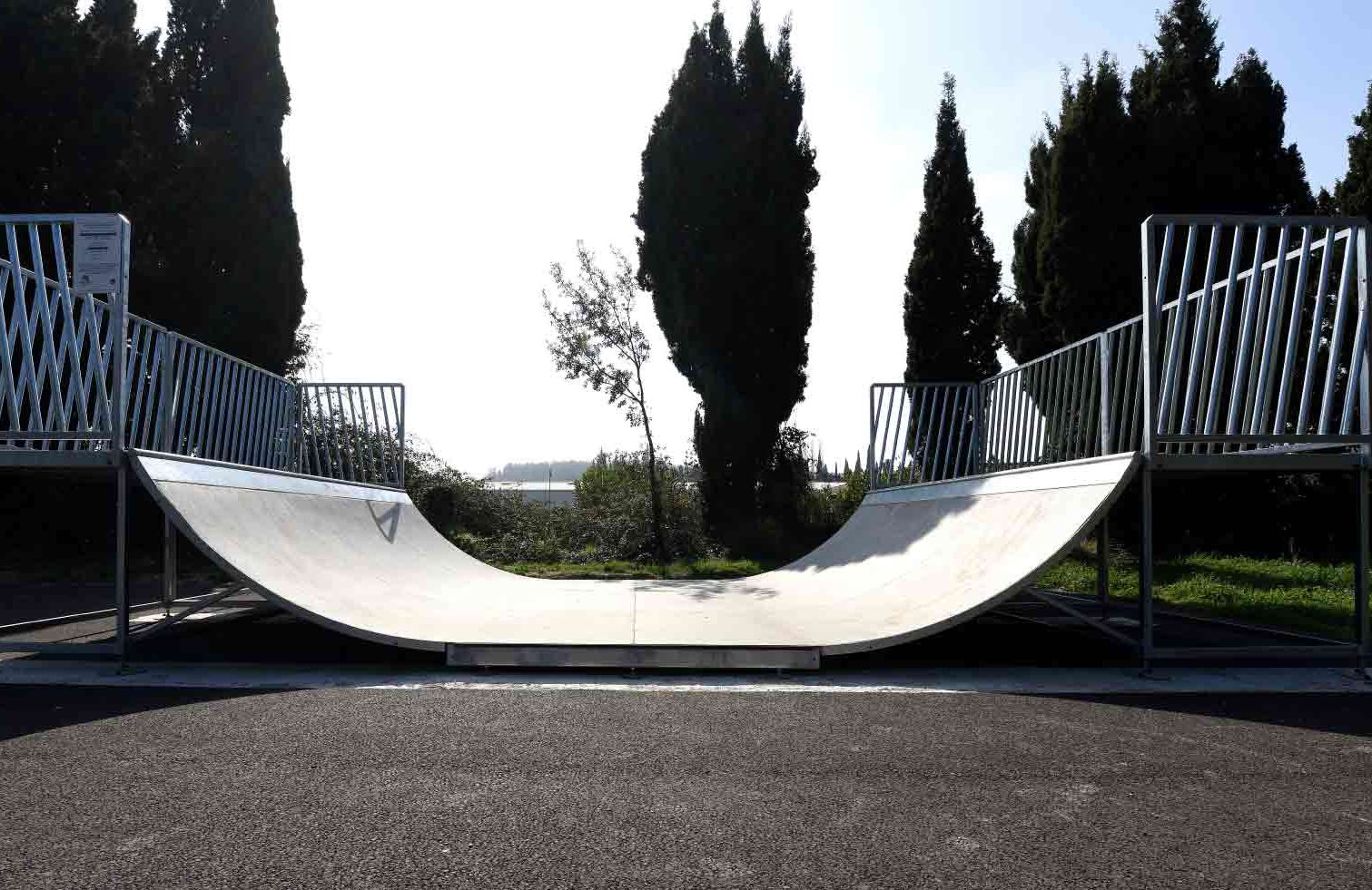 Rampe de skate-park