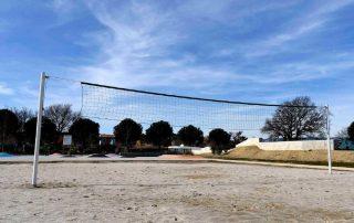 Installation beach volley