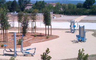 Parcours de fitness extérieur