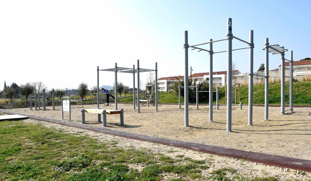 Complexe sportifs calisthénics ou street workout pour usage intensif