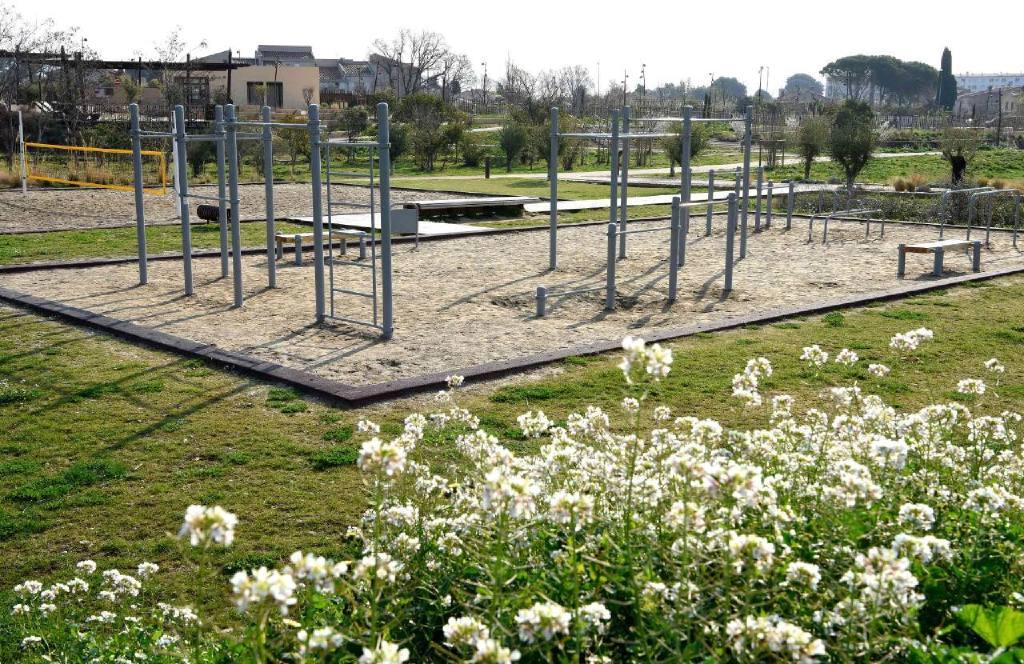 Parcours de street workout La Ciotat domaine de la Tour